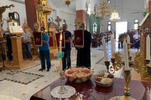 Το Μνημόσυνο του αειμνήστου πατρός του τέλεσε ο Αρχιεπίσκοπος Κύπρου κ.Χρυσόστομος