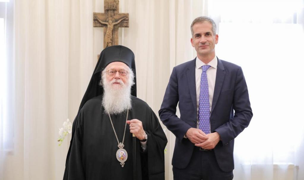 "You are currently viewing Κώστας Μπακογιάννης: ""Ευγνώμων για τη συνάντησή μου με τον Αρχιεπίσκοπο Αναστάσιο"""
