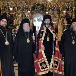 Ο εορτασμός της Πεντηκοστής στην Ι. Μονή Αγίας Τριάδος Τζαγκαρόλων Χανίων προεξάρχοντος του Σεβ. Σαράντα Εκκλησιών κ. Ανδρέου