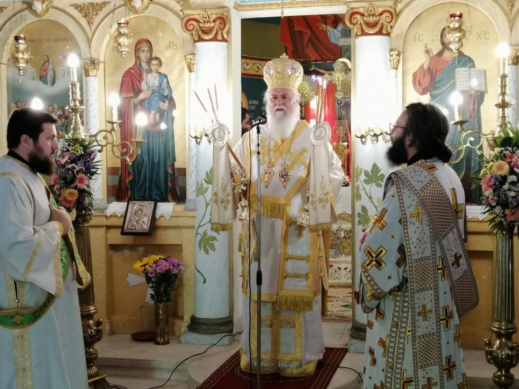 You are currently viewing Η εορτή της Πεντηκοστής και του Αγίου Πνεύματος στην Ι. Μητρόπολη Καλαβρύτων και Αιγιαλείας