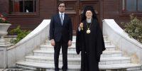 Στο Φανάρι ο Πρόεδρος των Σκοπίων – Ιδιαίτερη συνάντηση με τον Πατριάρχη- Άρχισαν οι διεργασίες για την εκεί Εκκλησία;