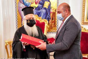 Ο Γενικός Πρόξενος της Γεωργίας στον Μητροπολίτη Βεροίας