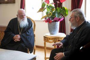 Στα εγκαίνια του καθεδρικού Ναού Λευκωσίας ο Αρχιεπίσκοπος Ιερώνυμος