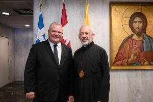 Σύσκεψη για τον άνοιγμα των χώρων λατρείας στον Καναδά