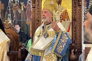 Συγκινήσεις και αναμνήσεις στη θεία λειτουργία από τον Σεβ. Αρχιεπίσκοπο Θυατείρων κ. Νικήτα στο Μετόχι του Πατριαρχείου Αλεξανδρείας