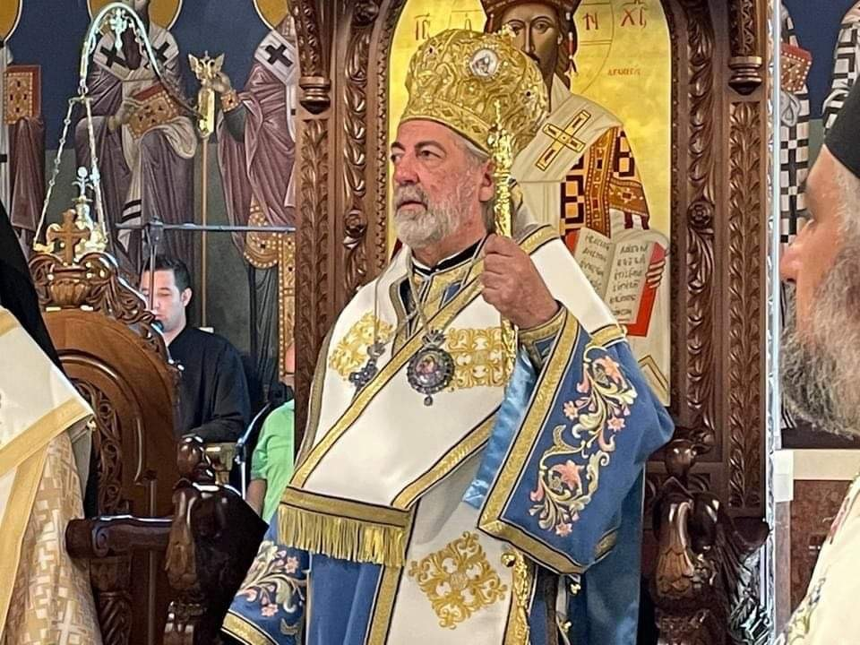 You are currently viewing Συγκινήσεις και αναμνήσεις στη θεία λειτουργία από τον Σεβ. Αρχιεπίσκοπο Θυατείρων κ. Νικήτα στο Μετόχι του Πατριαρχείου Αλεξανδρείας