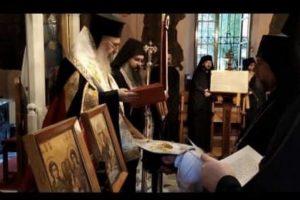 Μια επεισοδιακή Μοναχική Κουρά που δεν έγινε ποτέ στην Μονή Πετράκη…Έχει  υπόψη του ο Μακ. Αρχιεπίσκοπος το συμβάν; ( Βίντεο)