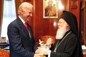 «Έκλεισε» η συνάντηση Οικουμενικού Πατριάρχη-με τον Πρόεδρο Μπάιντεν