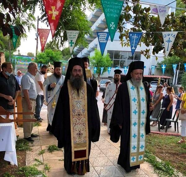You are currently viewing Με λαμπρότητα και κατάνυξη τα εγκαίνια του Ι. Παρεκκλησίου της Παναγίας των Βλαχερνών στην Χαλκίδα