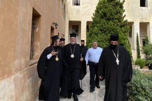 Επίσκεψη με ιδιαίτερο νόημα του Γέροντος Χαλκηδόνος Εμμανουήλ στην Κρήτη