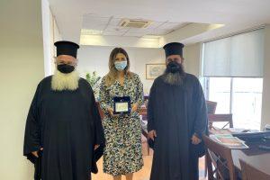 Επίσκεψη Μητροπολίτη Ιεραπύτνης στην Υφυπουργό Τουρισμού