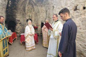 Μετά από 54 ολόκληρα χρόνια λειτουργήθηκε ερειπωμένος ναός της Αγίας Παρασκευής