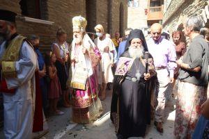 Eν πληθούση Εκκλησία Πανηγύρισε η Ιερά Μονή της Αγίας Μαρίνας στην Άνδρο