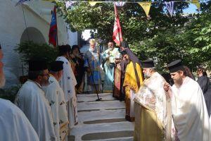 Πανηγύρισε η Ιερά Μονή Αγίου Παντελεήμονος Παναχράντου Άνδρου