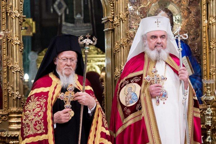 You are currently viewing Οι ευχές του Οικ. Πατριάρχη Βαρθολομαίου στον Πατριάρχη Ρουμανίας Δανιήλ