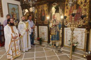 Στο Καθολικό της Ιεράς Μονής του Μεγαλόχαρου Ταξιάρχη Σερίφου ιερούργησε ο Μητροπολίτης Σύρου Δωρόθεος ο Β ´