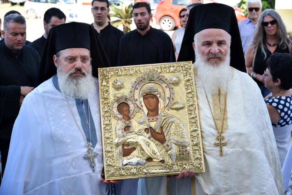 You are currently viewing Την Πολιούχο της Παναγία Τριχερούσα  θα εορτάσει η Φοινικούντα
