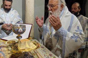 Τρίτη μέρα των λατρευτικών εκδηλώσεων για το θαύμα του Αγίου Σπυρίδωνος