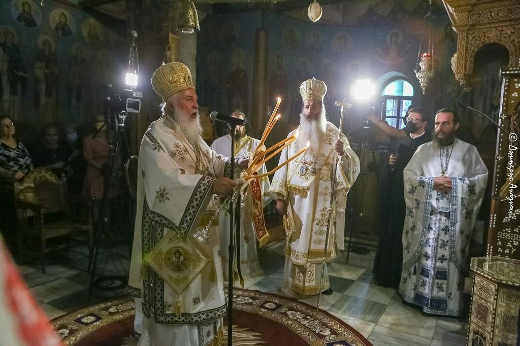 You are currently viewing Ο Λήμνου Ιερόθεος στην Μονή της μετανοίας του