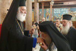 """Νέος Σχολάρχης στην Πατριαρχική Σχολή """"Άγιος Αθανάσιος"""" ο λόγιος Αρχιμ. Ισαάκ Τσαπόγλου"""