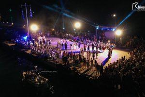 ΧΙΟΣ: Φαντασμαγορική εκδήλωση στη μνήμη του πυρπολητή Κωνσταντίνου Κανάρη