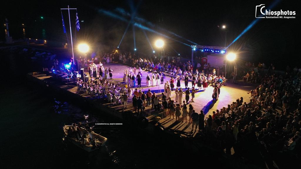 You are currently viewing ΧΙΟΣ: Φαντασμαγορική εκδήλωση στη μνήμη του πυρπολητή Κωνσταντίνου Κανάρη