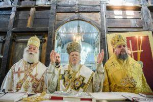 Συλλείτουργο Προκαθημένων για τα 60 έτη Ιερωσύνης του Οικ. Πατριάρχη στην Ίμβρο