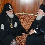 Ευχές του Οικουμενικού Πατριάρχη στον Πατριάρχη Γεωργίας