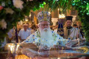 Μήνυμα του Σεβ.  Μητροπολίτου  Δημητριάδος και Αλμυρού κ.κ. Ιγνατίου,  Επί τη εορτή της Κοιμήσεως της Θεοτόκου