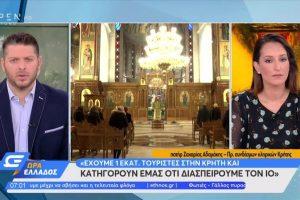 """Ιερός κλήρος Κρήτης: """"Στην Κρήτη υπάρχουν ένα εκατομμύριο τουρίστες και κατηγορούν εμάς"""""""