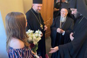 Με τις προσευχές του Πατριάρχη Βαρθολομαίου γιατρεύτηκε ένα κορίτσι στην Ουκρανία