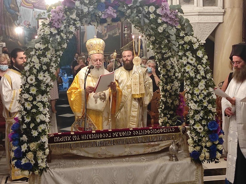 You are currently viewing Προεόρτια Ι. Αγρυπνία στο Ιερό Προσκύνημα Παναγίας Φανερωμένης Νέας Αρτάκης