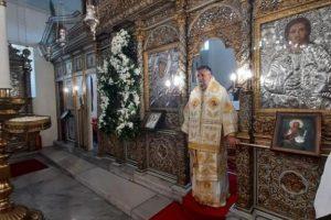 Η εορτή της Παναγίας στην Ι. Μητρόπολη Πριγκηποννήσων προεξάρχοντος του Σεβ. Γέροντος Πριγκηποννήσων κ. Δημητρίου