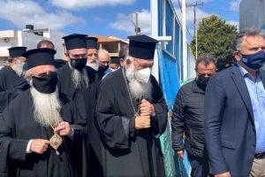Στο Αρκαλοχώρι ο Αρχιεπίσκοπος Ιερώνυμος – «Και στην περίπτωση αυτή όλοι μαζί θα προχωρήσουμε»
