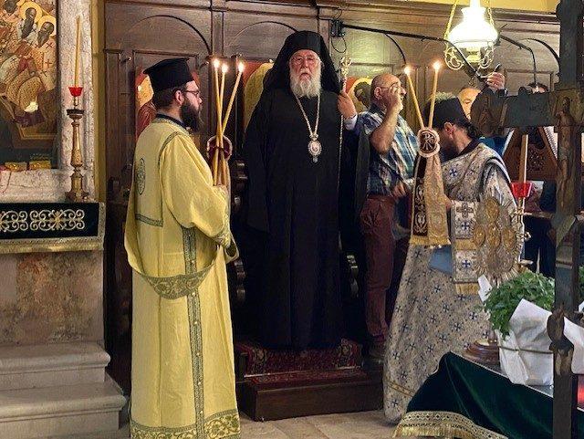 You are currently viewing Η εορτή της Υψώσεως του Τιμίου Σταυρού στην Κέρκυρα