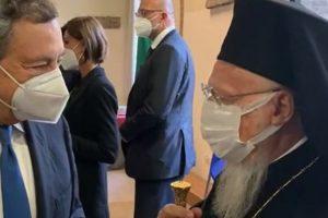 Συνάντηση του Οικουμενικού Πατριάρχη με τον Πρωθυπουργό της Ιταλίας