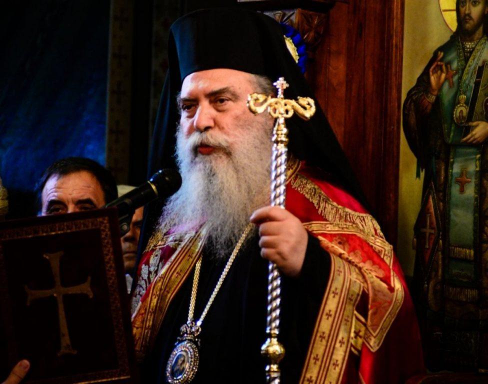 You are currently viewing Η εορτή του Αγίου Ευσταθίου στην Ιερά Μητρόπολη Σπάρτης