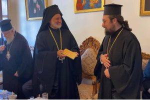 Τιμητική πλακέτα στον Θεοφ.Επίσκοπο Δορυλαίου Δαμασκηνό για τα 10 χρόνια Πρωτοσυγκελίας στην Ι. Μητρόπολη Κυδωνίας και Αποκορώνου
