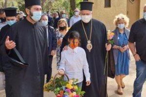 Επίσκεψη Αρχιεπισκόπου Αμερικής κ. Ελπιδοφόρου στην Κιβωτό του Κόσμου στη Χίο