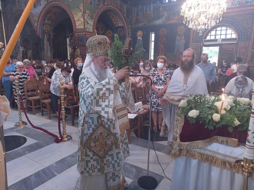 You are currently viewing Η εορτή του Τιμίου Σταυρού στην Ιερά Μητρόπολη Κορίνθου