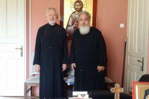 Ο Αρχιεπίσκοπος Καναδά στον Μητροπολίτη Πρεβέζης