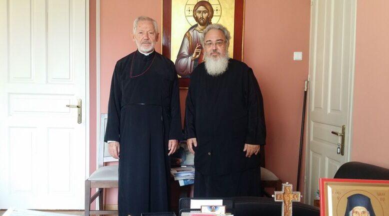 You are currently viewing Ο Αρχιεπίσκοπος Καναδά στον Μητροπολίτη Πρεβέζης