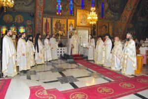Ἡ Πανηγυρική Θεία Λειτουργία στόν Ἱερό Ναό τοῦ Ἁγίου Ἀλεξάνδρου Παλαιοῦ Φαλήρου