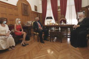 Σύμφωνο Συνεργασίας υπέγραψαν ο Αρχιεπίσκοπος με τον Υπουργό Εσωτερικών Μάκη Βορίδη