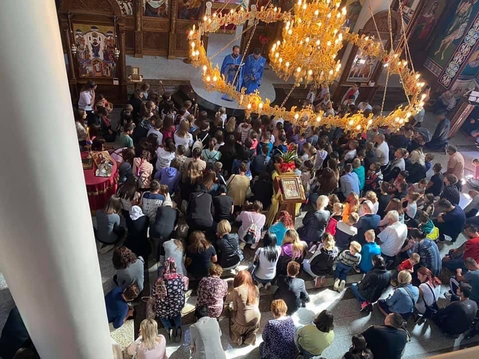 You are currently viewing Ορθόδοξη Χριστιανική έναρξη σχολικού έτους, στο πρώην κομμουνιστικό κράτος Βοσνία-Ερζεγοβίνη.