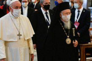Συνάντηση Βαρθολομαίου με τον Πάπα Φραγκίσκο στο Βατικανό