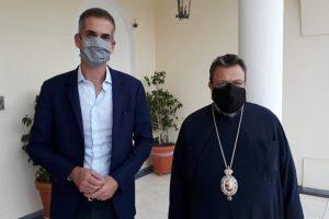 Στον Μητροπολίτη Μεσσηνίας ο Δήμαρχος Αθηναίων