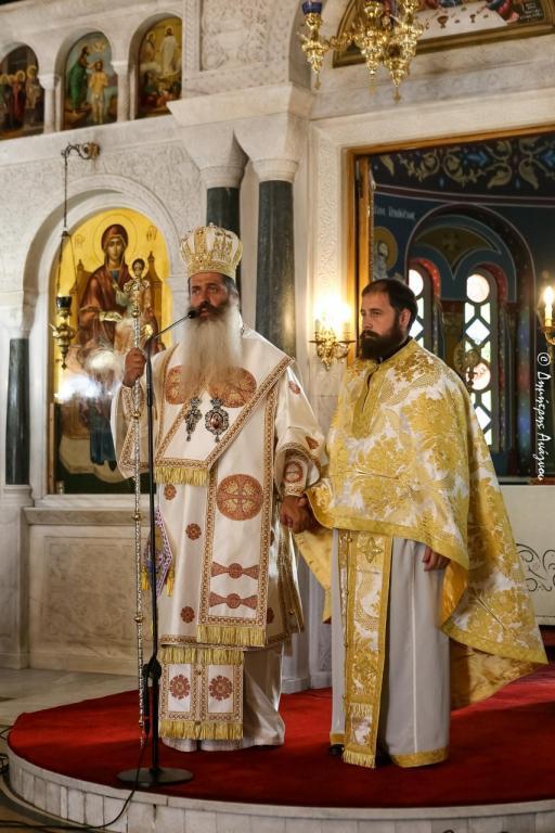 You are currently viewing Φθιώτιδος Συμεών: «Ο ιερέας κοιτάζει μόνο μπροστά»