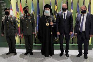 Επίσκεψη Πατριάρχη Αλεξανδρείας και Πάσης Αφρικής Θεόδωρου Β' στο Υπ. Εθνικής  Άμυνας Κύπρου
