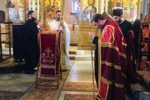 Η Ύψωση του Τιμίου Σταυρού στην Θεολογική Σχολή
